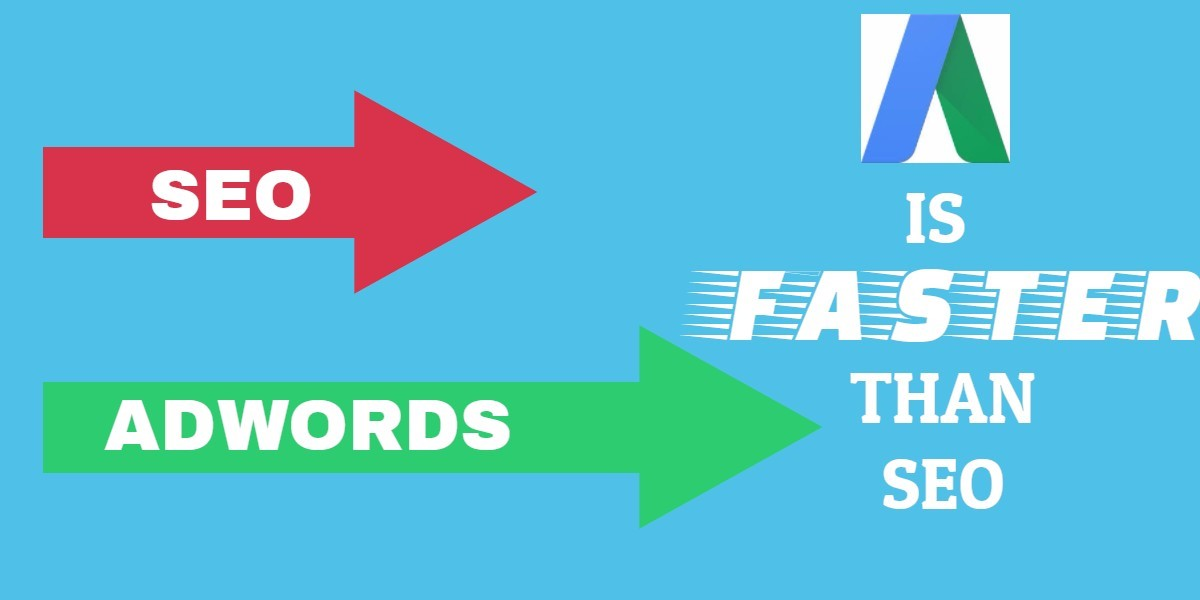 Adwords is faster than SEO